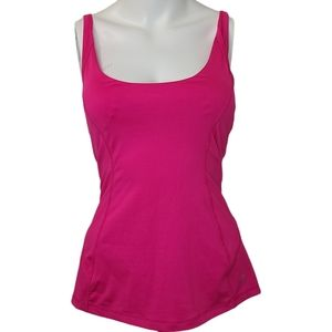 Pure and Simple Active Womans Pink Racer Back Tank